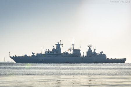 Wilhelmshaven Marine: Fregatte BAYERN (F 217) Operation Atalanta