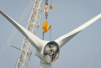 Rückbau der Offshore-Windkraftanlage (BARD VM) in Hooksiel
