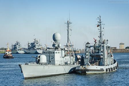 Museumsboot: Schnellboot Gepard (P 6121) in Wilhelmshaven angekommen