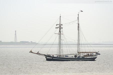 Wilhelmshaven: Toppsegelschoner BANJAARD (L 38 m) auf Tagestörn