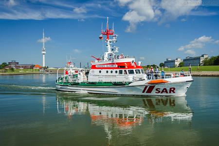 WILHELMSHAVEN Nassauhafen: Tag der Seenotretter 2016