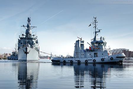 Wilhelmshaven: Fregatte AUGSBURG zur Operation COUNTER DAESH ausgelaufen