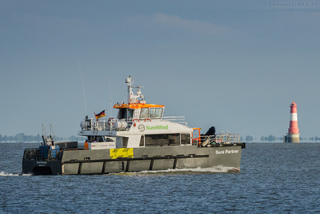 Wilhelmshaven: Offshore-Katamaran SURE PARTNER (L 20 m)