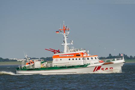 WILHELMSHAVEN: Seenotrettungskreuzer HERMANN HELMS (DGzRS)