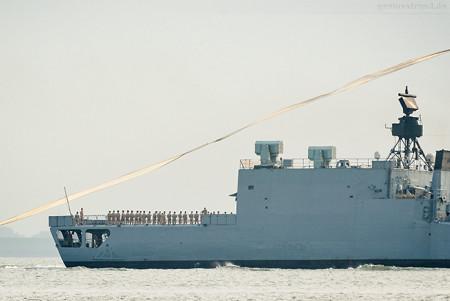 Wilhelmshaven: Fregatte Karlsruhe (F 212) ist vom Einsatz zurück