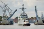 WILHELMSHAVEN: Die ehemalige Fregatte KÖLN (F 211) wird verschrottet