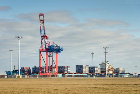 JADEWESERPORT: Containerschiff MAERSK IDAHO (L 292 m) U.S. Flag Fleet