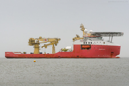 WILHELMSHAVEN: Offshore-Versorger NORMAND REACH (L 121 m)