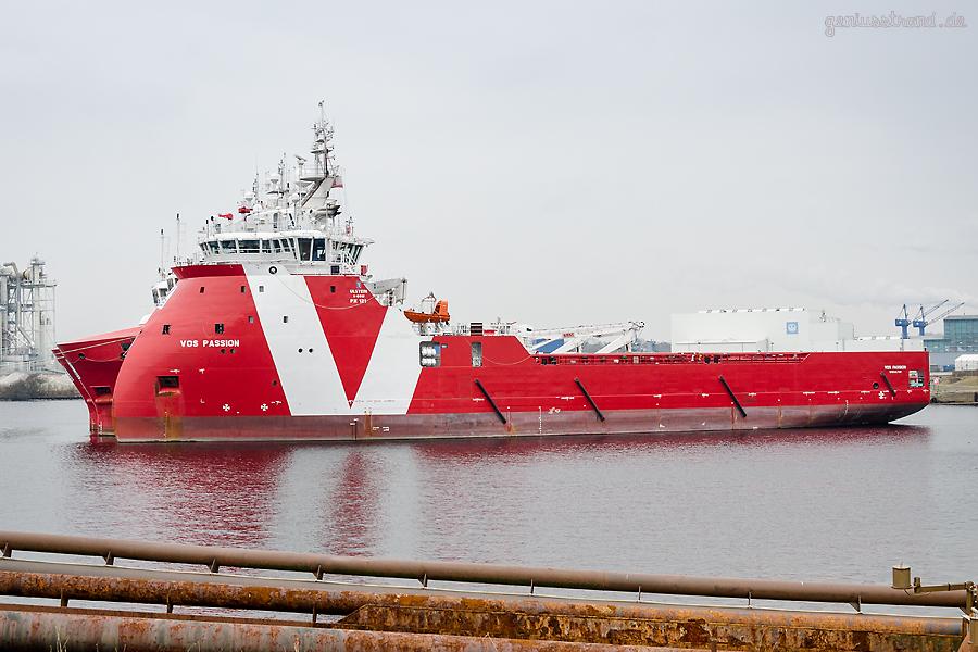 Auflieger Wilhelmshaven: VOS PASSION (L 23 m) Platform Supply Vessel (PSV)