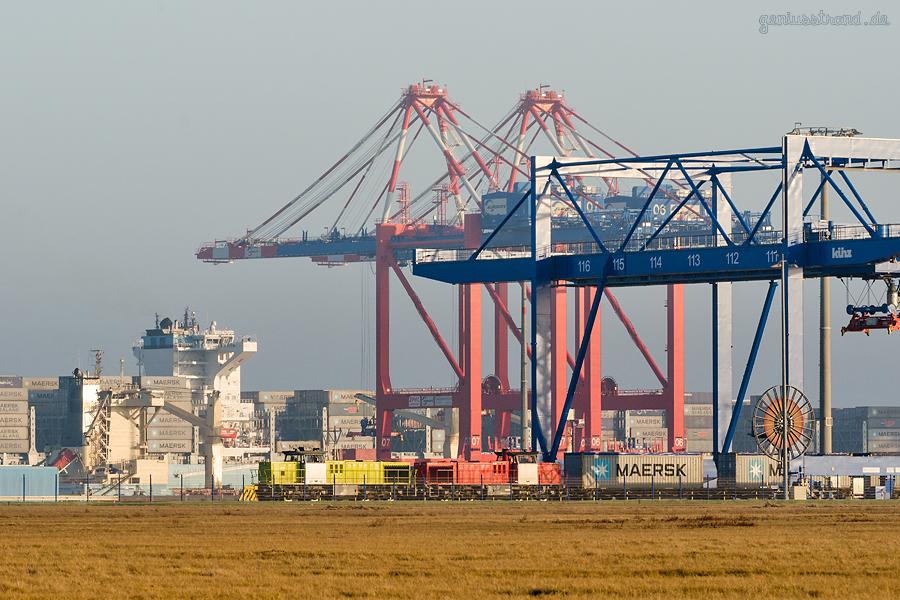 WILHELMSHAVEN: Neue Containerzugverbindung zwischen JadeWeserPort und Hamburg