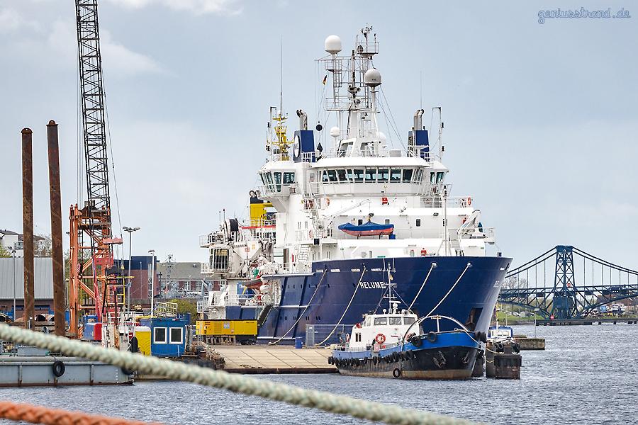 WILHELMSHAVEN JADE-DIENST KAI: Offshore Supply Vessel RELUME ()