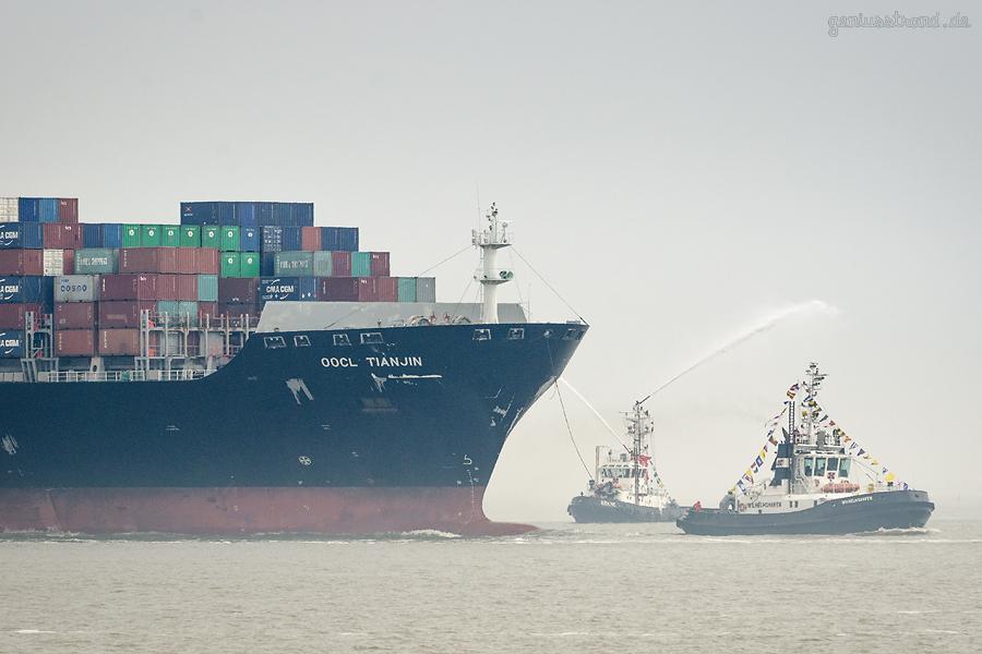 WILHELMSHAVEN: Ocean-Alliance startet Dienst am JadeWeserPort