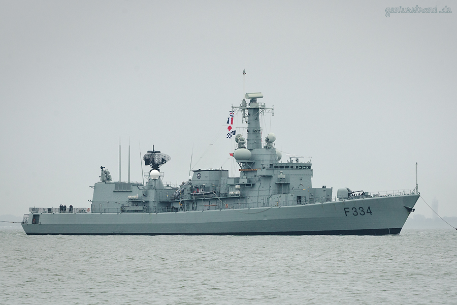 WILHELMSHAVEN: Portugiesische Fregatte NRP DOM FRANCISCO DE ALMEIDA (F 334)