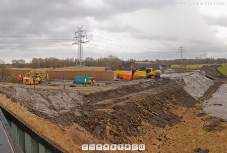 JadeWeserPort Gleisanbindung: Neubau einer Zufahrtsstraße zur Deichschäferei