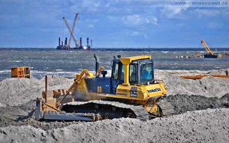 Baustelle Jade Weser Port Wilhelmshaven
