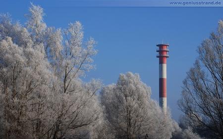 Geniusstrand Leuchtturm Oberfeuer Voslapp Wilhelmshaven