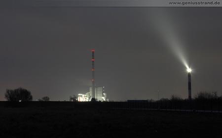 Geniusstrand Kraftwerk Leuchtturm Wilhelmshaven