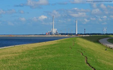 Großbaustelle JadeWeserPort & Kraftwerksbaustelle