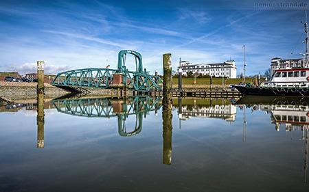Wilhelmshaven Hintergrundbilder Wallpaper Gratis Nassauhafen Nassaubrücke Download Gratis Kostenlos