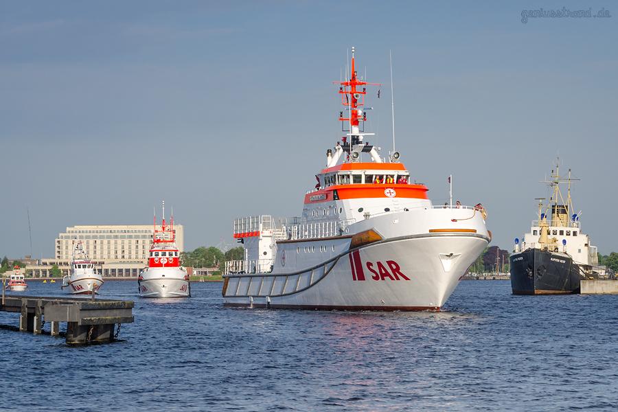 DGzRS WILHELMSHAVEN SAREx 2018: Search and Rescue Exercise, Such- und Rettungsübung auf der Jade