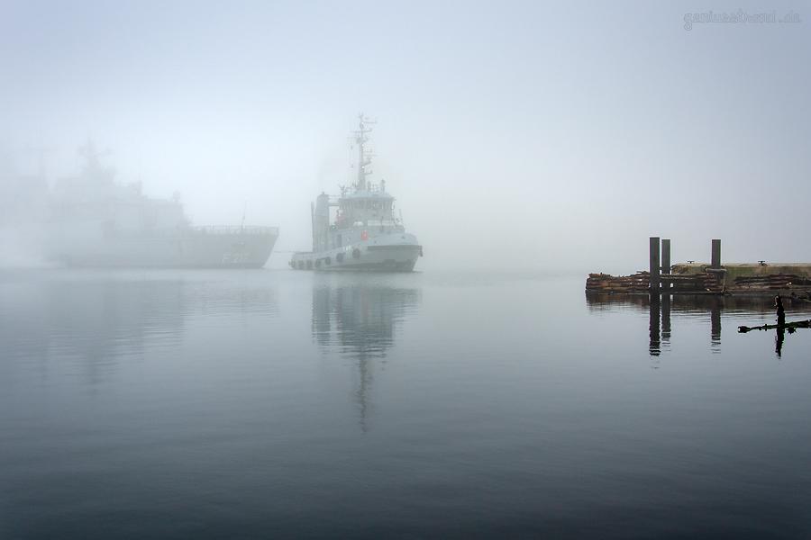 WILHELMSHAVEN MARINE: Fregatte BAYERN (F 217) wird im Großen Hafen entmagnetisiert
