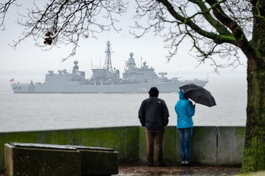 MARINE WILHELMSHAVEN: Fregatte LÜBECK vom NATO-Einsatz (SNMG 2) zurück