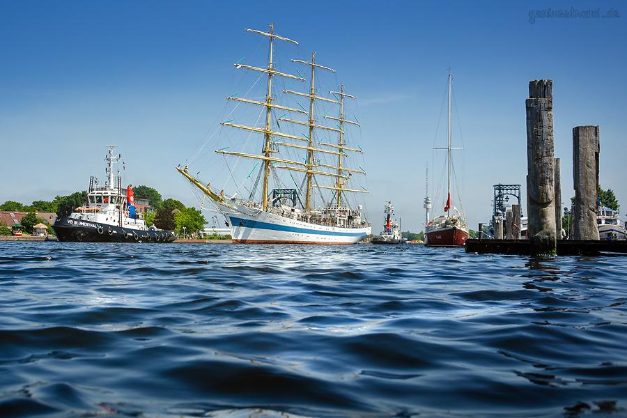 WILHELMSHAVEN JAHRESRÜCKBLICK: Juni - Segelschulschiff Mir in Wilhelmshaven