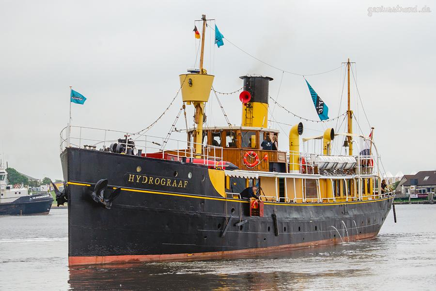 TAG DER NIEDERSACHSEN 2019 in WILHELMSHAVEN: Dampfschiff HYDROGRAAF