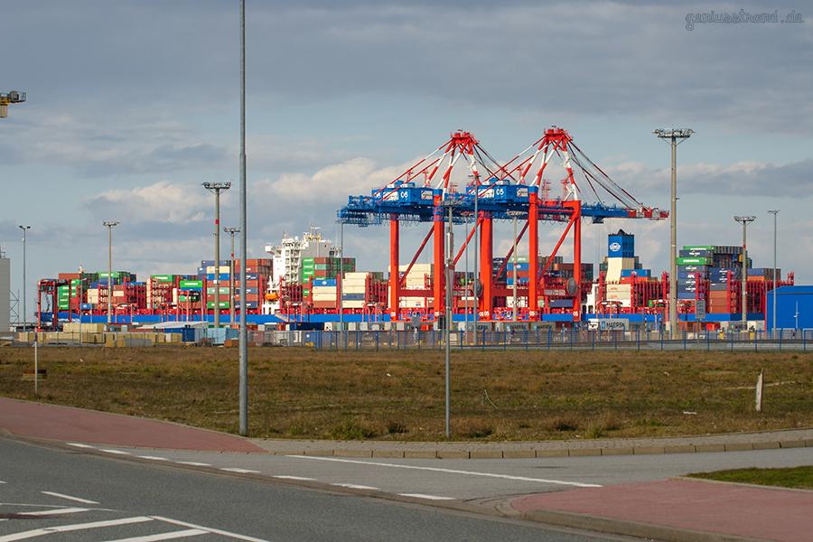 JADEWESERPORT: Containerschiff COSCO SHIPPING AZALEA erstmalig in Wilhelmshaven