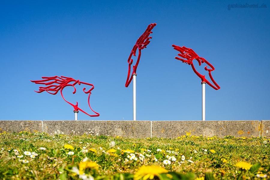 WILHELMSHAVEN SÜDSTRAND: Die Windwächter am Fliegerdeich